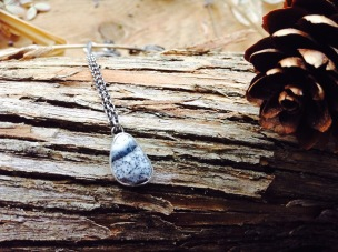 Facing North Necklace by Robin McGauley