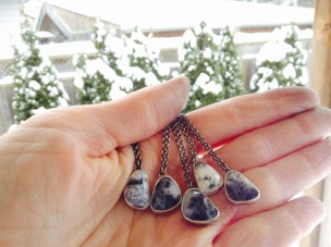 Facing North Necklaces by Robin McGauley